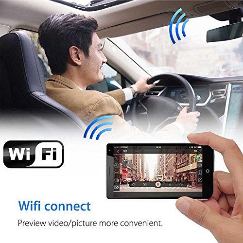 Alftek 1080P Car Camera Wifi DVR Dash Cam Recorder Camcorder Night Vision Cam