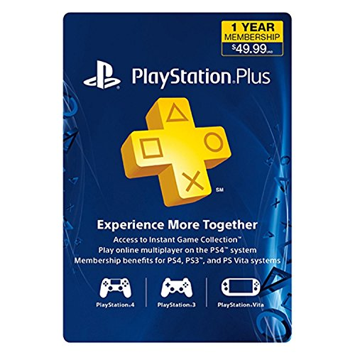 PS Plus 12 Month Subscription Card Live () - Sony 3000133
