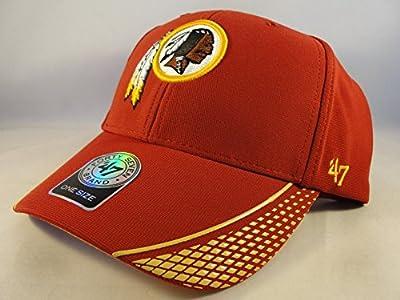 NFL Washington Redskins 47 Brand Warhawk Hat Cap Velcro Strap from 47 Brand