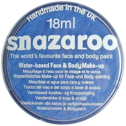 Snazaroo 18ml Sky Blue Face Paint Refill