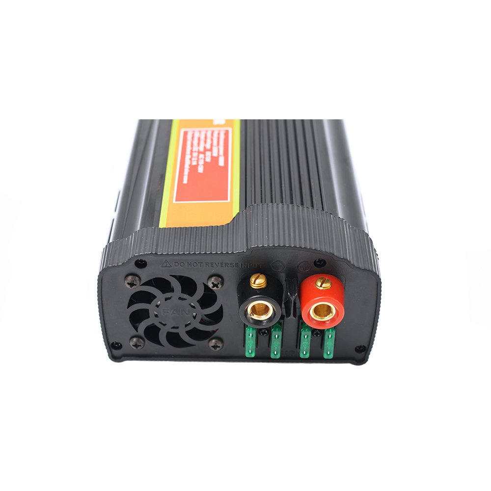 1000 Watt 12V Power Inverter Dual 110V AC Outlets with 2.1A Dual USB Car Adapter for Blenders, Vacuums, Power Tools. by SPEAUTO (Image #5)