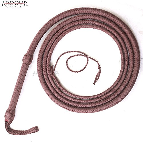 Ardour Crafts 12 Feet Long Nylon Para-cord Bullwhip