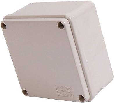 Caja de Conexiones de Plástico Impermeable de ABS IP66 100x100x50mm: Amazon.es: Bricolaje y herramientas
