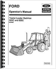 ford  loaderbackhoe operators manual ford manuals