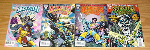 (Skeleton Warriors #1-4 VF to VF/NM complete comic book series based on the animated show ; Marvel)