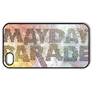 ByHeart Mayday Parade Hard Back Case Shell Cover Skin for Apple iPhone 4 and 4S - 1 Pack - Retail Packaging - 7802