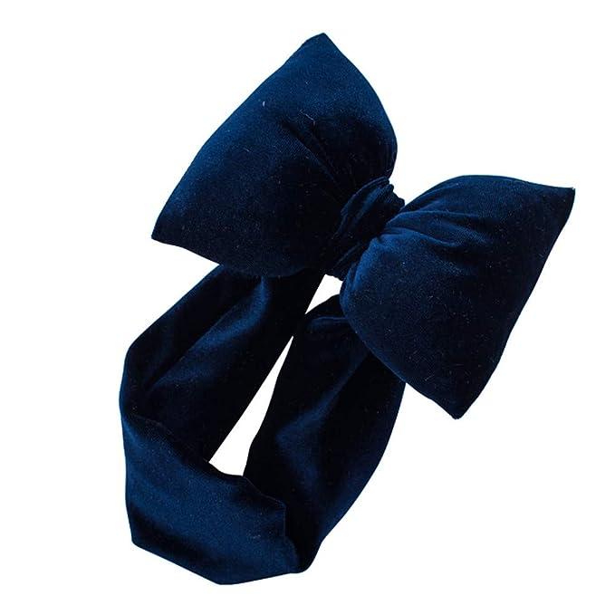 0fd70c7fcfc6c9 ... Infant Bowknot Stirnband Stretch Haarband Headwear Stirnband mehrfarbig  und blumenreich elastisch Haarband Fliege Schleife für Kinder Baby Mädchen  ...