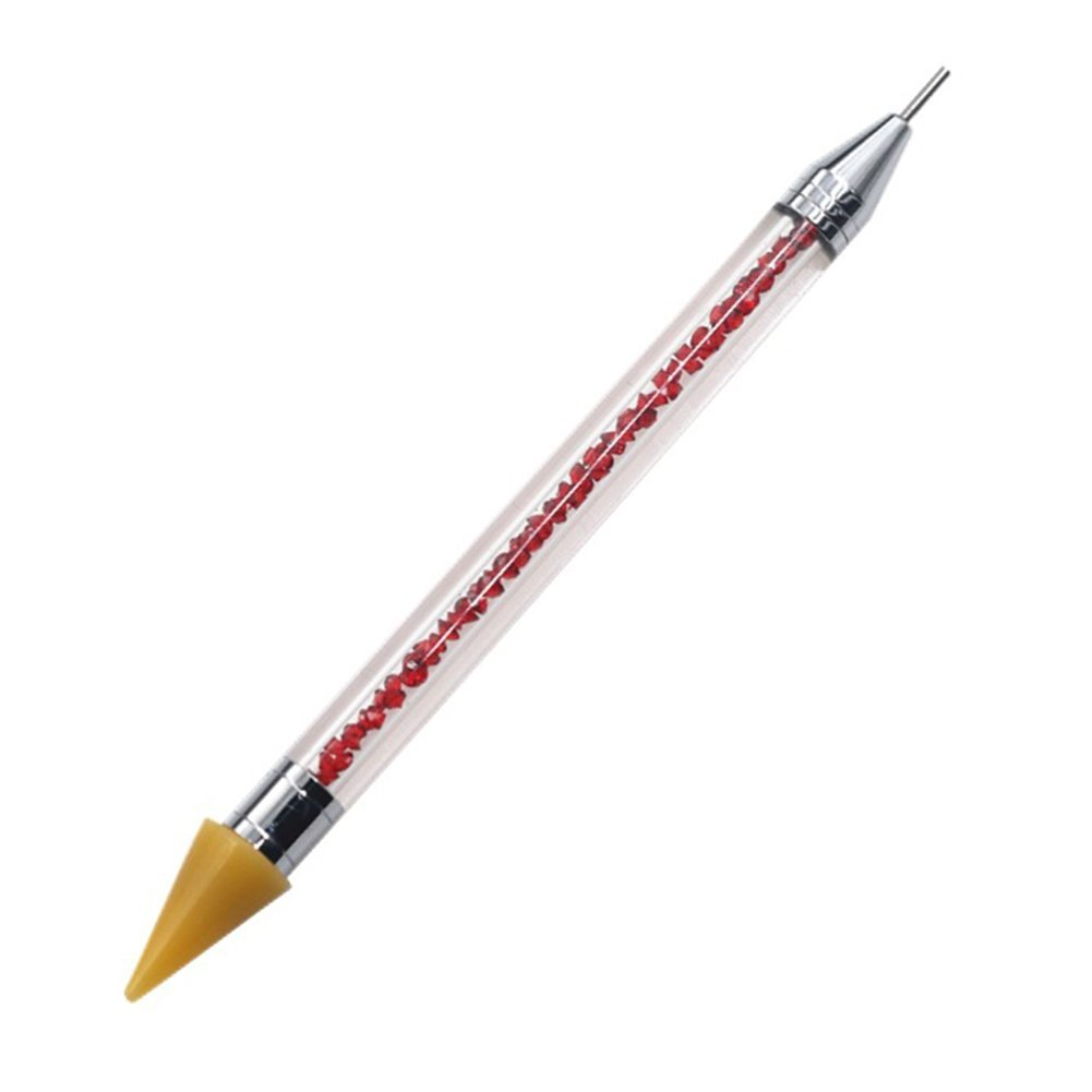 Leisial Nail Uñas Arte Pen Pincel Herramienta de Manicura Rhinestones Pintura Punto de Arte de Clavo para Decoración Cepillo Uñas Arte para Mujer 421736156LA