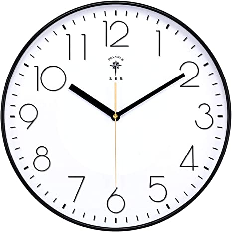 Amazon Com N A Wall Clock Modern Silent Wall Clock Modern Silent Bedroom Creative Living Room Kitchen Clocks Wall Home Decor Gift Suitable For Library Bathroom Home Kitchen