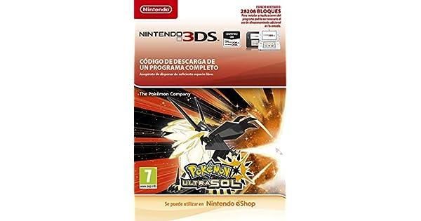 Pokémon Ultrasol | Nintendo 3DS - Código de descarga: Amazon.es ...