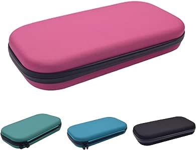 Estetoscopio estuche de transporte – Organizador médico estetoscopio duro caja de almacenamiento – Funda EVA bolsa de viaje médico y accesorios de enfermera Tamaño libre rosa: Amazon.es: Hogar