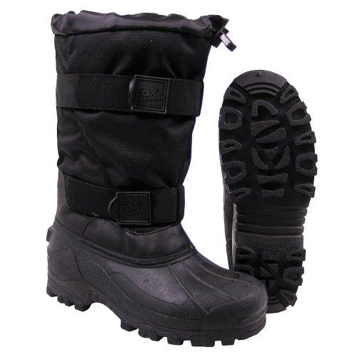 bottes grand froid 'Fox 40 C', semelle en caoutchouc, Couleur:Schwarz;Taille:38