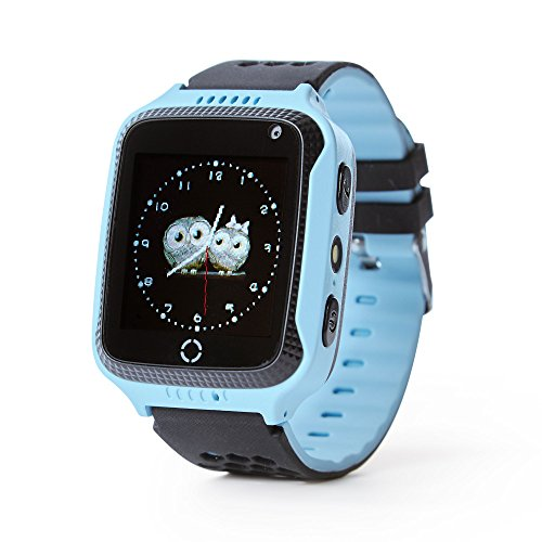 Force Energy Smart Watch – Touch Screen Smart Watch For Kids (Boys & Girls) with GPS, SOS-Call And Camera (Blue) by Force Energy
