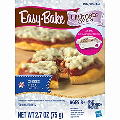 Easy-Bake Ultimate Oven Cheese Pizza Refill Pack: Toys & Games