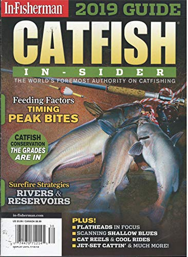 In-Fisherman 2019 Guide Catfish Insider Magazine