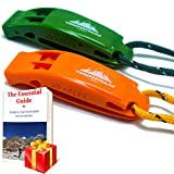 VnSupertramp Emergency Whistle with Long Lanyard 18 Inches...