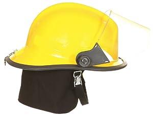Fire Helmet, Yellow, Modern