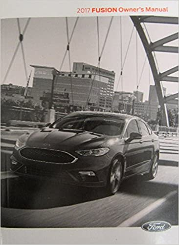 FIESTA 2018 FORD OWNERS MANUAL OWNER/'S MANUAL GUIDE BOOK