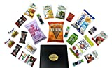 The Gnawty Vegan Snack Box: Variety Pack (Pack of 22), Natural, Organic, Non-GMO, Dried Veggies, Dried Fruit, Chips, Crackers, Vegan Care Package