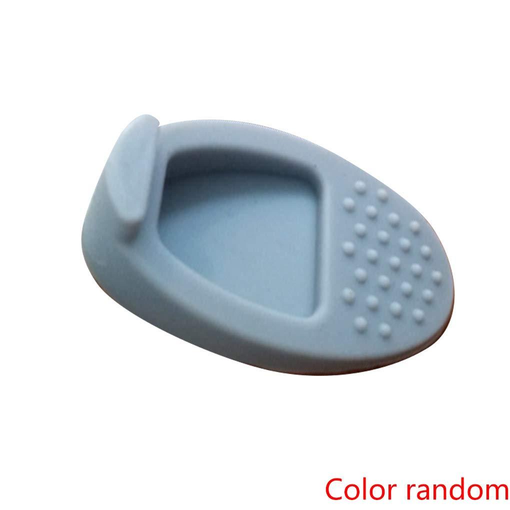 Random Color Silicone Rubber Wedge Door Stop Stopper Holder Guard Baby Safety Protector Security Door Card xuanL