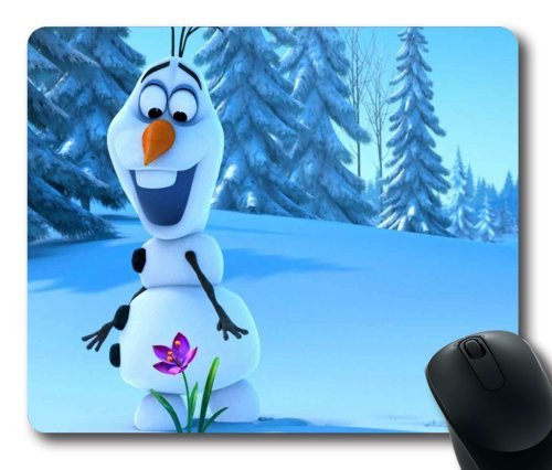 Olaf frozen rectangle mouse pad by icasepersonalized