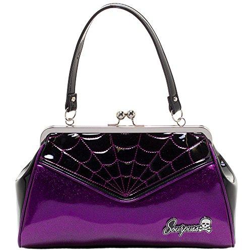 Taille Backseat main unique Violet noir à Baby Sourpuss violet Clothing femme pour Sac 5wnaxWPqHS