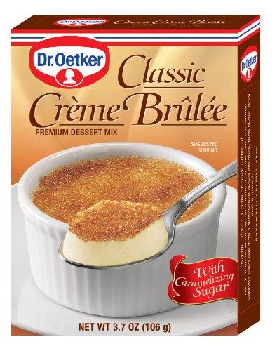 (Dr. Oetker Classic Creme Brulee Dessert, 3.7-Ounce (Pack of 12) )