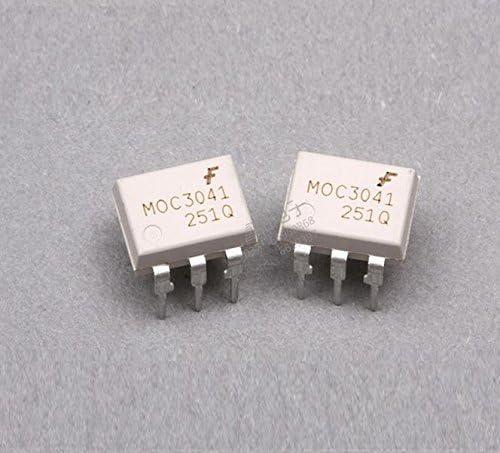 HONWEN 3PCS MOC3041 FSC OPTOCOUPLERS DIP-6