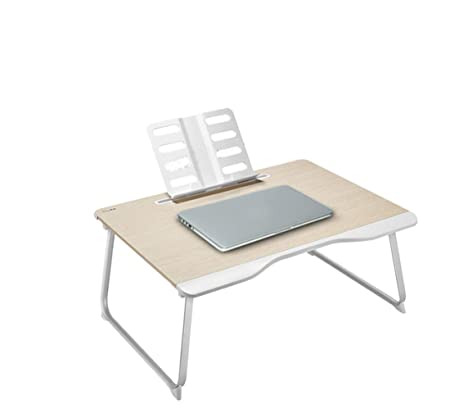 aoeiuv El Escritorio portátil Plegable Puede elevar la Mesa de ...