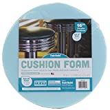 Fairfield 16'' Round Cushion Foam for DIY Seats and Stools-Set of Four, 16'' x 16'', Blue
