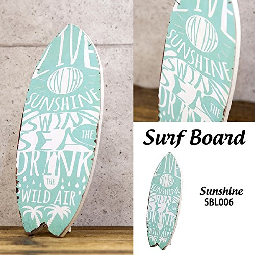 가 무역 아트 프레임바다 Sunshine W17×D1×H39cm Surf Board 서핑 보드 SBL006 / Akizuki Trade Art Frame Sea Sunshine W17×D1×H39cm Surf Board Surf Board SBL006