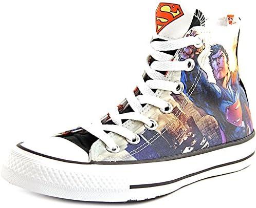 Converse Unisex Superman Flight DC Comics White Black