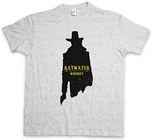 "RATWATER WHISKEY ""J"" T-SHIRT – Whisky Jesse Comic Preacher Cassidy Custer Texas TV Series TV Garth Cassidy Größen S – 5XL"