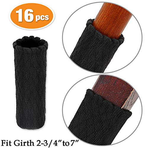 - MelonBoat Chair Leg Socks, Hardwood Floor Protectors, Furniture Feet Caps Covers, Fit Girth 2-3/4