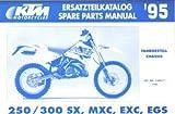 320377 1995 KTM 250 300 SX MXC EXC EGS Spare Parts Manual