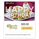 The Cheesecake Factory Birthday Banana Cheesecake Gift Cards - E-mail Delivery