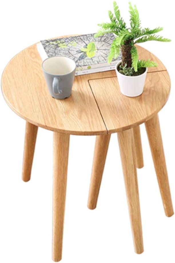 XIA Lado nórdico de la combinación de la Mesa de Centro de los Muebles del Roble de la Madera sólida nórdica Simple y Moderna pequeña nórdica: Amazon.es: Hogar