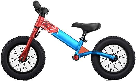 YUMEIGE Bicicletas sin Pedales Bicicletas sin Pedales Acero con Alto Contenido de Carbono, Adecuado for Ruedas neumáticas for niños, Bicicleta Sin Pedales Carga de Choque 30 kg 2-6 años: Amazon.es: Jardín