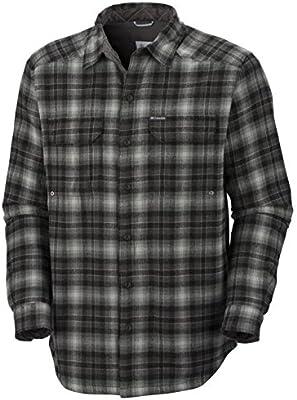 Columbia Windward TM Overshirt, Camisa Acolchada para Hombre, Scacchi Nero/Grigio, XXL: Amazon.es: Deportes y aire libre