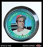 1971 Topps Coins # 11 Joe Torre St. Louis Cardinals (Baseball Card) Dean's Cards 3 - VG Cardinals