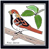 SONG SPARROW TILE, SONG SPARROW WALL PLAQUE, SONG SPARROW TRIVET Review