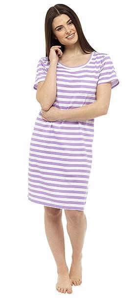 Hari Deals Mujer Camisón Camiseta Lema Pijama Camisón Camisa: Amazon.es: Ropa y accesorios
