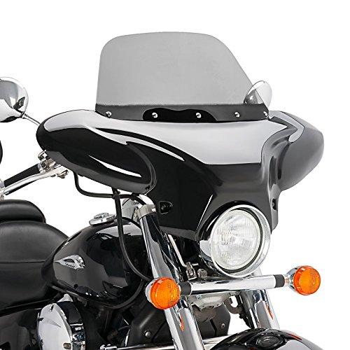 Carenado Batwing Honda Shadow VT 750 C 10-16 ahumado: Amazon ...