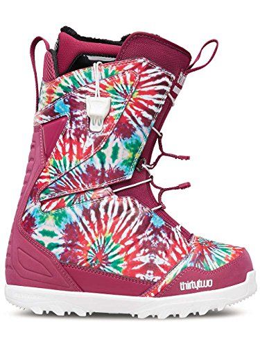 Thirty Two Womens Lashed - Thirty Two Lashed Fast Track Snowboarding Boot - Women's Tie Dye 8.5