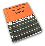 Massey Ferguson MF 135 Tractor Service Repair Shop Manual Technical Workshop