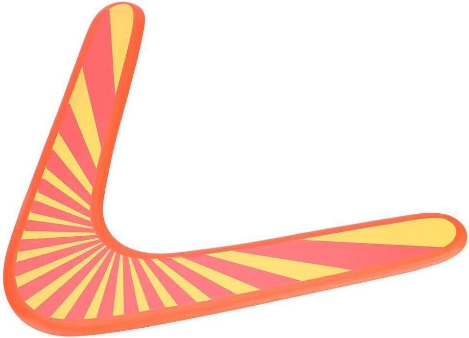 Broco Holz R/ückkehr Boomerang Klassische V-Form Boomerang Outdoor Games Sport Spielzeug