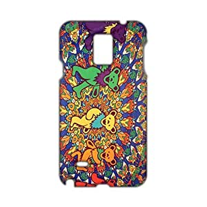 Angl 3D Case Cover Rockband Greatful Dead Phone Case for Samsung Galaxy Note4