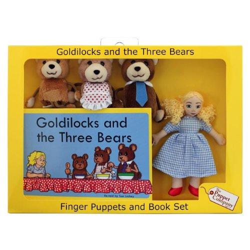 Price comparison product image Goldilocks & 3 Bears Fing-W/Bk
