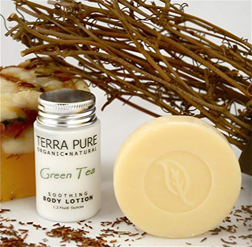 Terra Pure Bar Soap, Travel Size Hotel Amenities, 1.25 oz (Pack of 350) by Terra Pure (Image #6)