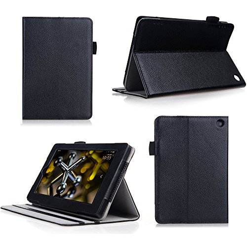 Bear Motion for New Fire HD 7 Tablet - Genuine Cowhide Leather Case for the New Fire HD 7 (Oct 2, 2014 Release)Will NOT…